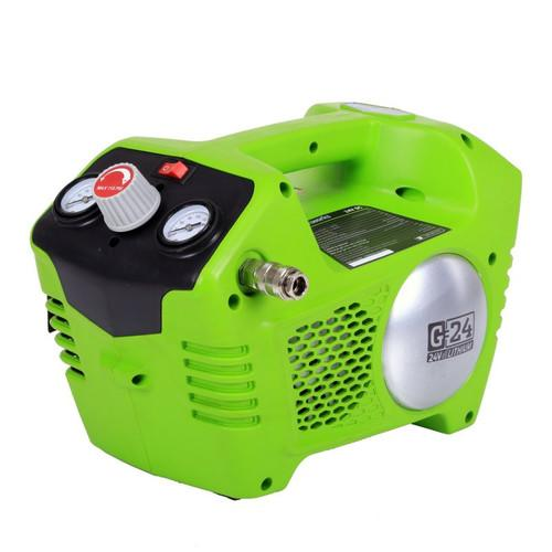 Greenworks 4100002 24V Cordless Lithium-Ion 1/2 Gallon Air Compressor (Bare Tool)