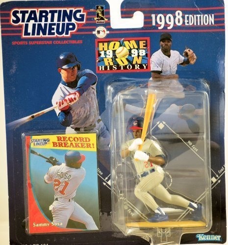 Starting Lineup MLB SAMMY SOSA HOMERUN RUN HISTORY COMEMMORATIVE 1998 - image 1 de 1