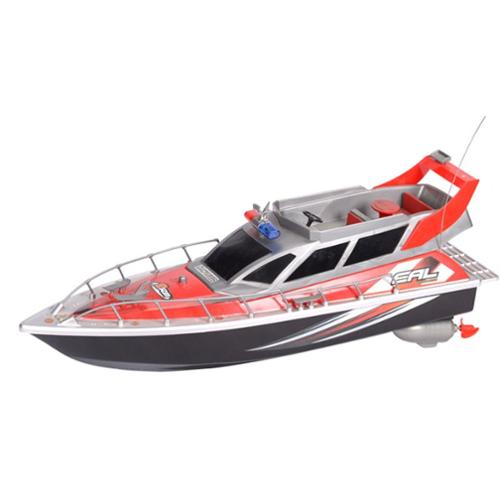 RC Patrol Boat High Speed Radio Controlled Ship Watercraft - Red (Gift Idea)