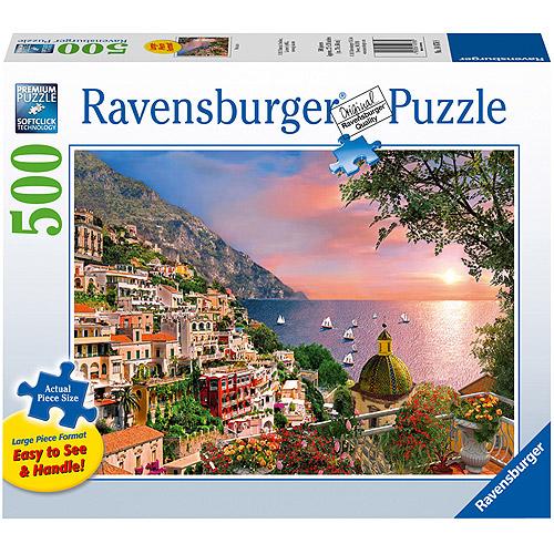Ravensburger Positano Large Format Puzzle, 500 Pieces by Ravensburger
