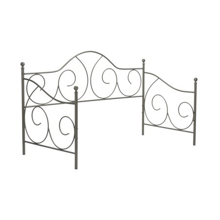 Caroline Complete Metal Daybed with Euro Top Deck and Trundle Bed ...