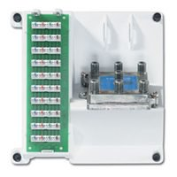 Leviton Compact 105-47603-1G6 6-Way Video Combo Expansion Module