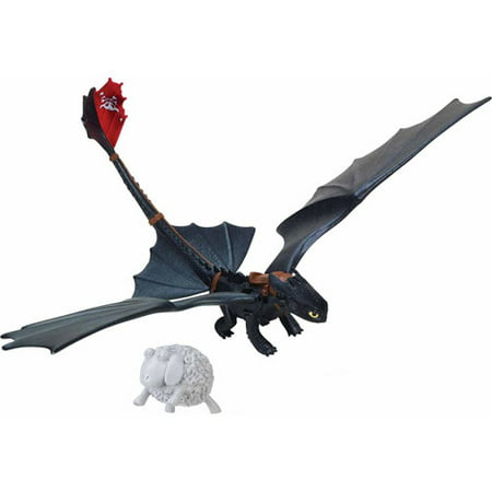 Toothless Nightfury (DreamWorks Dragons Defenders of Berk - Action Dragon Figure - Toothless Night Fury (Catapult)