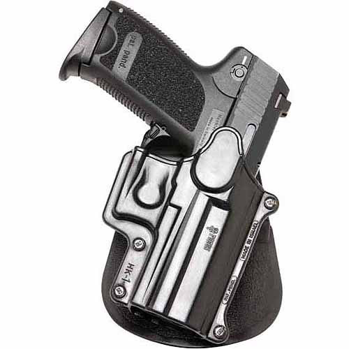 Fobus Standard Left-Handed Holster for H&K Compact, USP 9mm, 40 and 45, Full Size 9mm, 40, S&W Sigma Series 9, 40 VE, E, G, FN49, Ruger SR9, Taurus Millenium .40