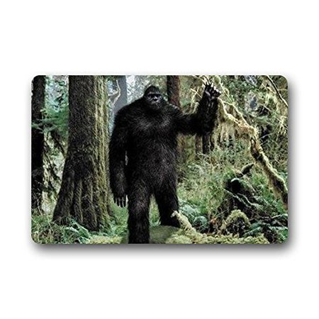 Deyou big foot doormat outdoor indoor floor mats non slip for Big w bathroom mats