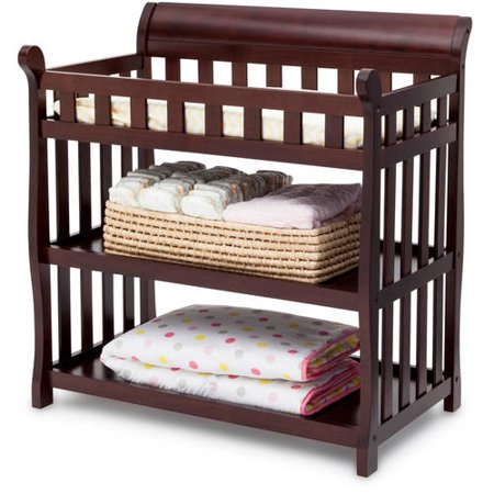 . Delta Children Eclipse Changing Table with Pad   Walmart com