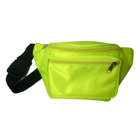 b0c4d20c737d Neon Fanny Packs Assorted Colors FFN - Neon Yellow