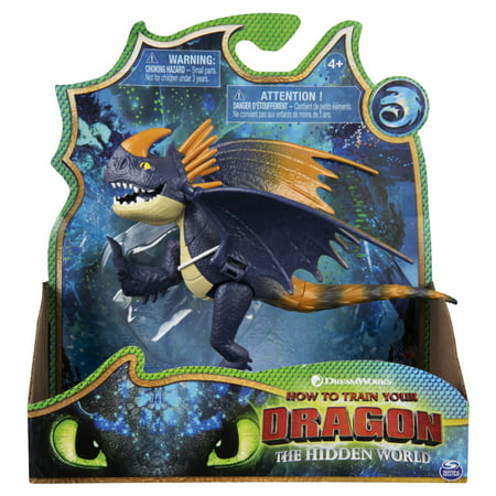 DreamWorks Dragons, Wild Nadder, Dragon Figure with Moving Parts, for Kids Aged 4 and
