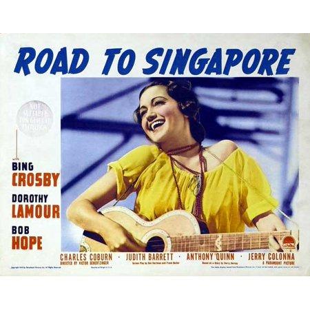 Road to Singapore POSTER Movie D Mini Promo (Halloween Jobs Singapore)