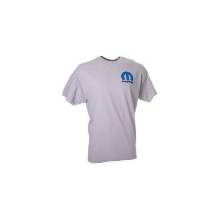 David Carey Officially Licensed Mopar Pinstripe Screen Print Tee - 2X - Grey
