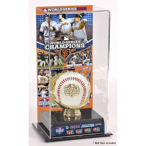 San Francisco Giants Fanatics Authentic 2012 World Series Champions Gold Glove Team Logo Baseball Display Case - No Size