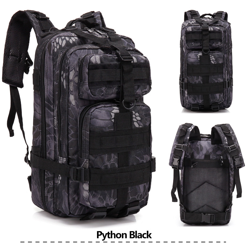 Tactical Backpack #21  Water Proof  Military  Multi Function  Heavy Duty  1x Bag  Colour Options