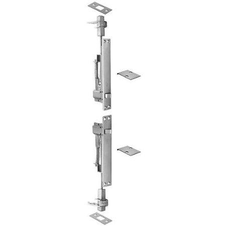 Ives Satin Chrome Flush Bolts (ROCKWOOD 21842.26D Automatic Flush Bolt, Satin Chrome )