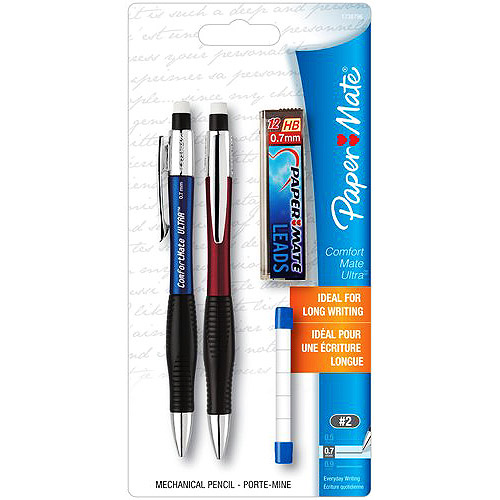 Paper Mate Mechanical Pencil Starter Kit, 0.7mm lead
