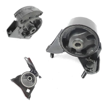 #M126 A6261 A6242 A6260 For 93-97 Toyota Corolla Engine Motor Mount Set 3 Geo Prizm Pontiac Firefly 1.6 1.8 AT 93 94 95 96
