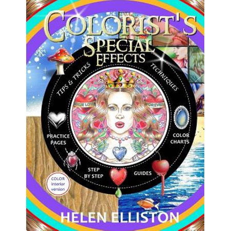 Colorist's Special Effects - Color Interior : Step by Step Guides to Making Your Adult Coloring Pages (Psychological Effects Of Colour In Interior Design)