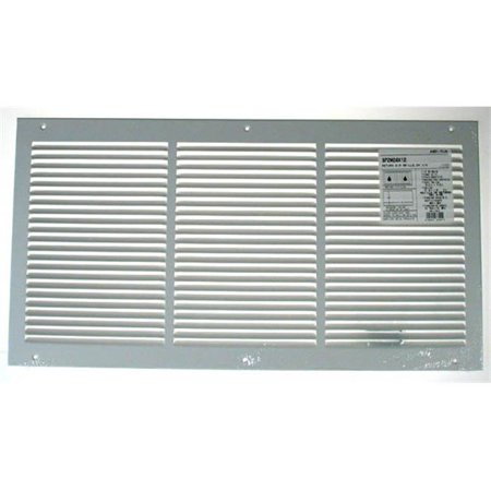 Hart Cooley American Metal 24in. X 14in. White Return Air Grille .50in. Bar Spacing  3