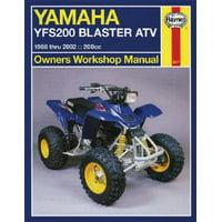 Yamaha Yfs200 Blaster Atv : 1988 Thru 2002 - 200cc