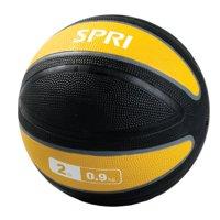 SPRI Color Coded Xerball, 2-25 lbs