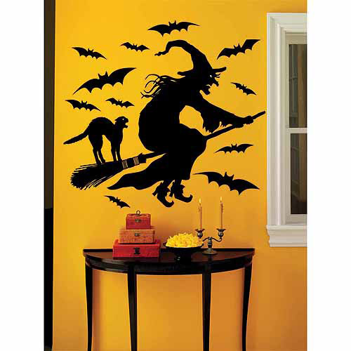 Martha Stewart  19-piece Witch Vinyl Wall Decal
