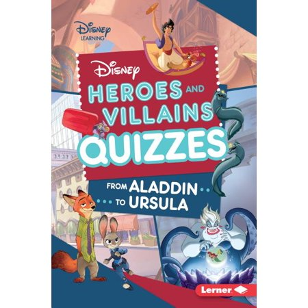Halloween Quizzes For Kids (Disney Quiz Magic: Disney Heroes and Villains Quizzes: From Aladdin to Ursula)