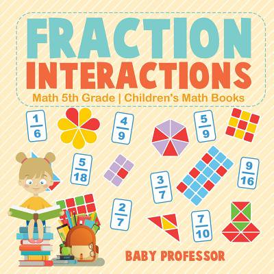 Fraction Interactions - Math 5th Grade Children's Math - Halloween Math Fractions