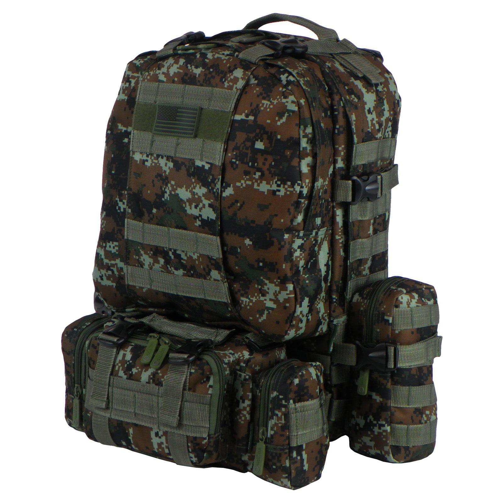 East West U.S.A. Tactical Molle Military ACU Rucksack Tre...