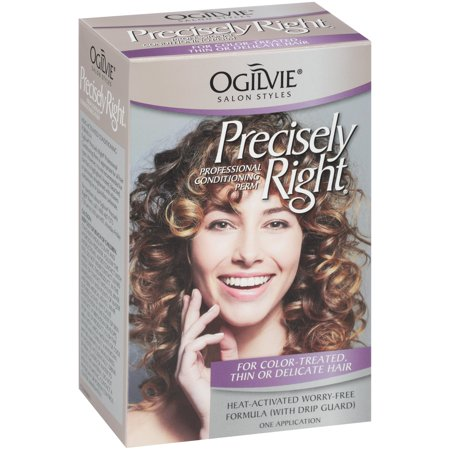 Ogilvie Salon Styles Professional Conditioning Perm For Color Treated Thin Or Delicate Hair Precisely Right
