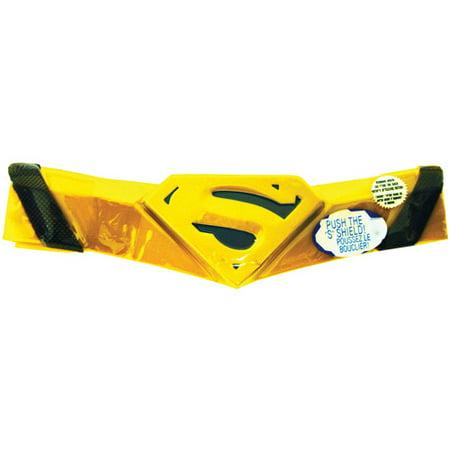 Fantasias Halloween Juvenil (Superman Deluxe Belt Adult Halloween)