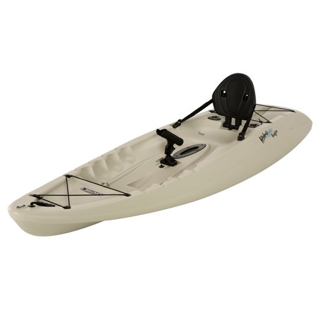 Lifetime hydro 8 39 5 sit on top fishing kayak with paddle for Lifetime fishing kayak