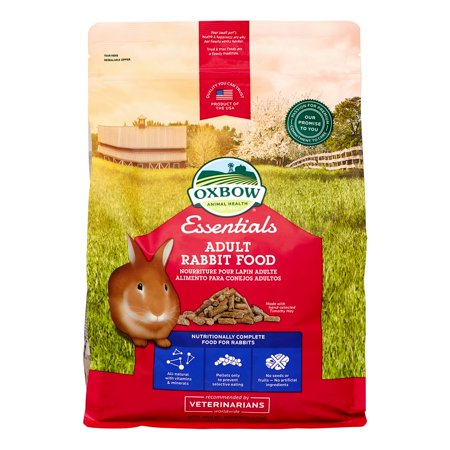Oxbow Pet Products Essentials Bunny Basics Adult Rabbit Dry Small Animal Food, 5 Lb