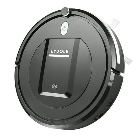 Robot Vacuum Cleaner– Higher Suction Robotic Vacuum Cleaner with Drop-sensing Technology, HEPA Filter for Pet Fur Robotic Vacuum