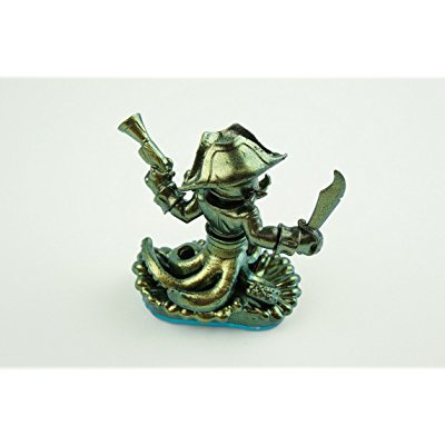 skylanders swap force exclusive metallic gold green color shift wash buckler (includes trading card and internet code, no retail packaging) - Wash Buckler
