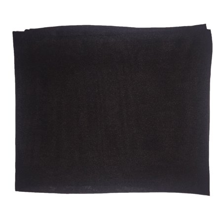 Toddler - 50's Sheer Chiffon Square Scarf - Black 50's Polka Dot Scarf