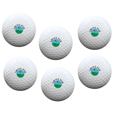Above Par Golf Balls Set of 6 - Par Golf Supply