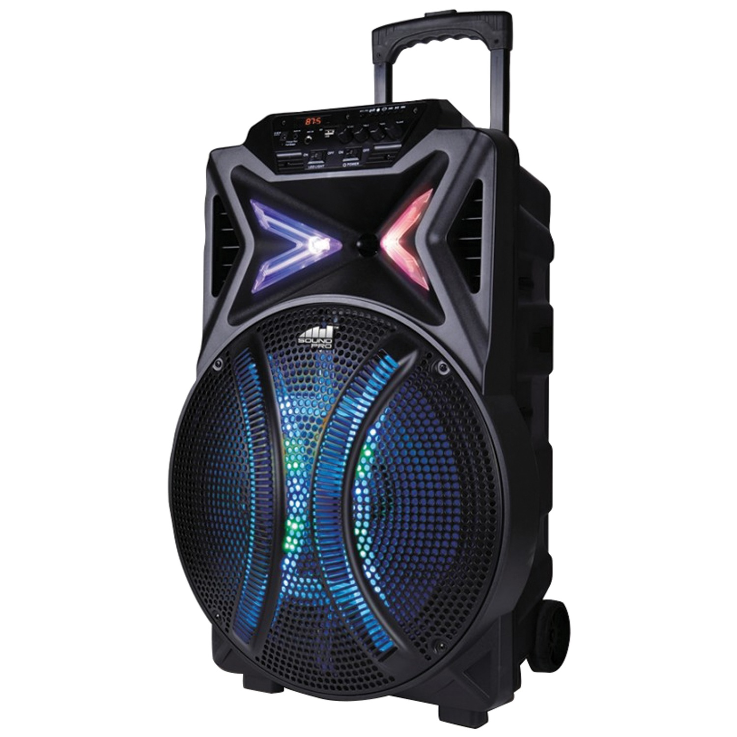 Naxa NDS-1510 4,000-Watt Portable Karaoke Speaker with Bluetooth