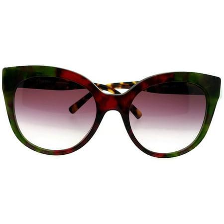 Burberry BE4243-36388H Cat Eye Women's Havana Frame Purple Lens Sunglasses NWT