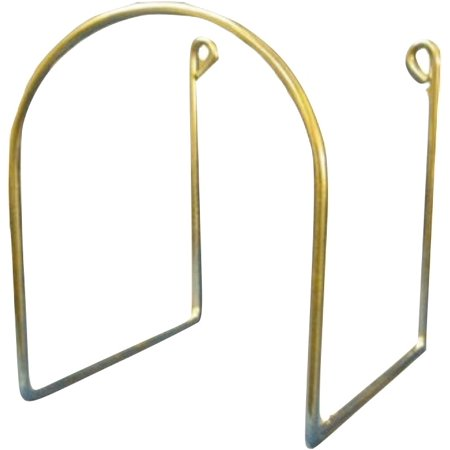 WIRE HOSE HANGER: for Central Vacuum System Vacuum Cleaner Hose or
