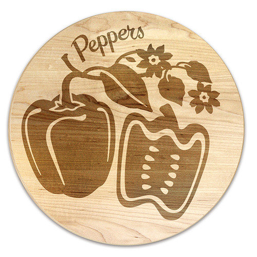 Martins Homewares Farmers Market Pepper Trivet