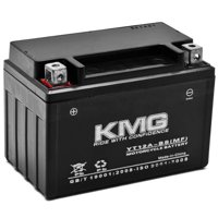 KMG Battery for Suzuki 750 GSX-R750 2000-2012 YT12A-BS Sealed Maintenance Free Battery High Performance 12V SMF OEM Replacement Powersport Motorcycle ATV Scooter Snowmobile