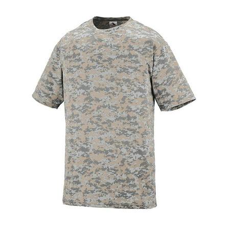 Augusta Youth Wicking Mesh (Augusta Sportswear T-Shirts Youth Digi Camo Wicking T-Shirt 1799)