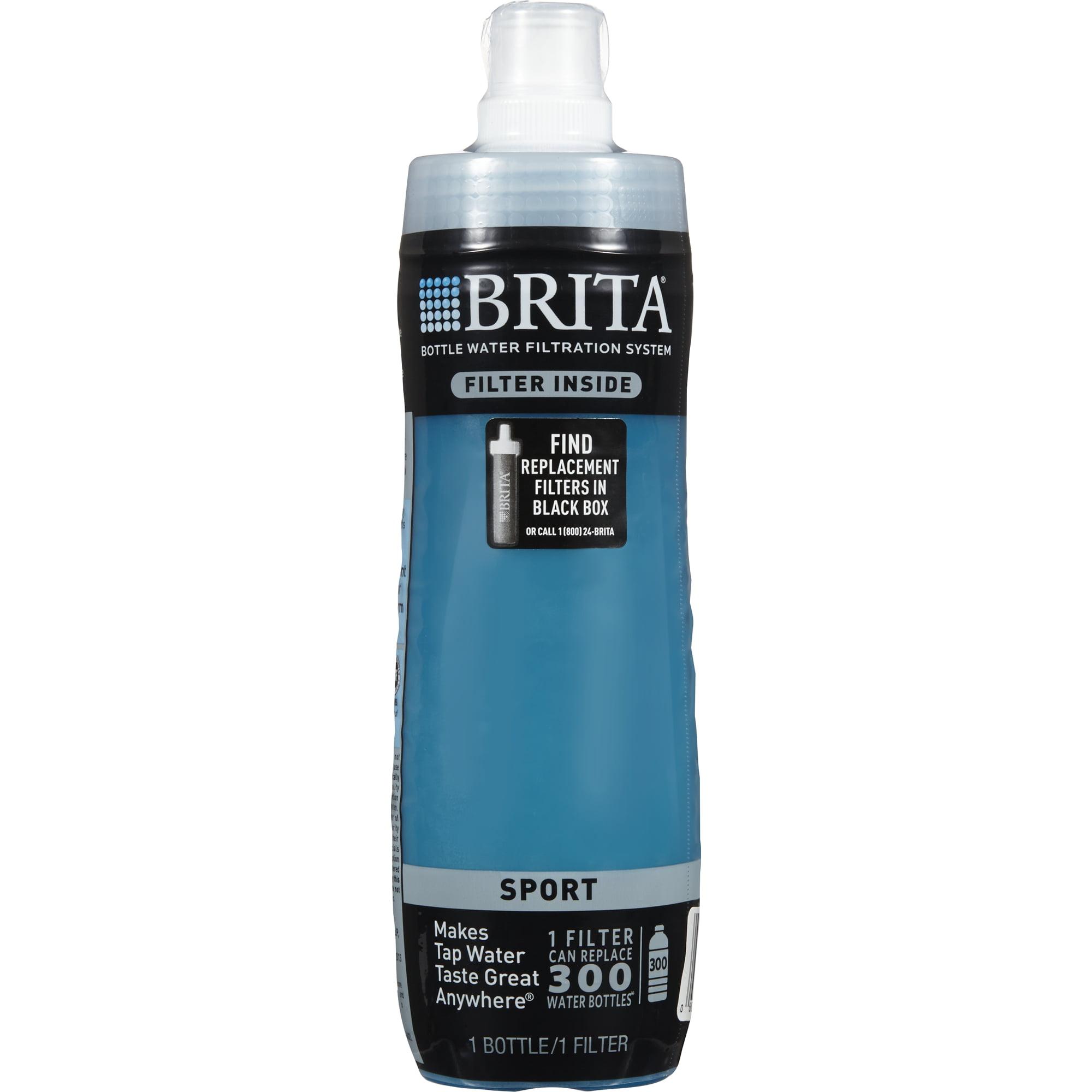 inside brita water filter. Brita 20 Ounce Sport Water Bottle With Filter - BPA Free Blue Walmart.com Inside T
