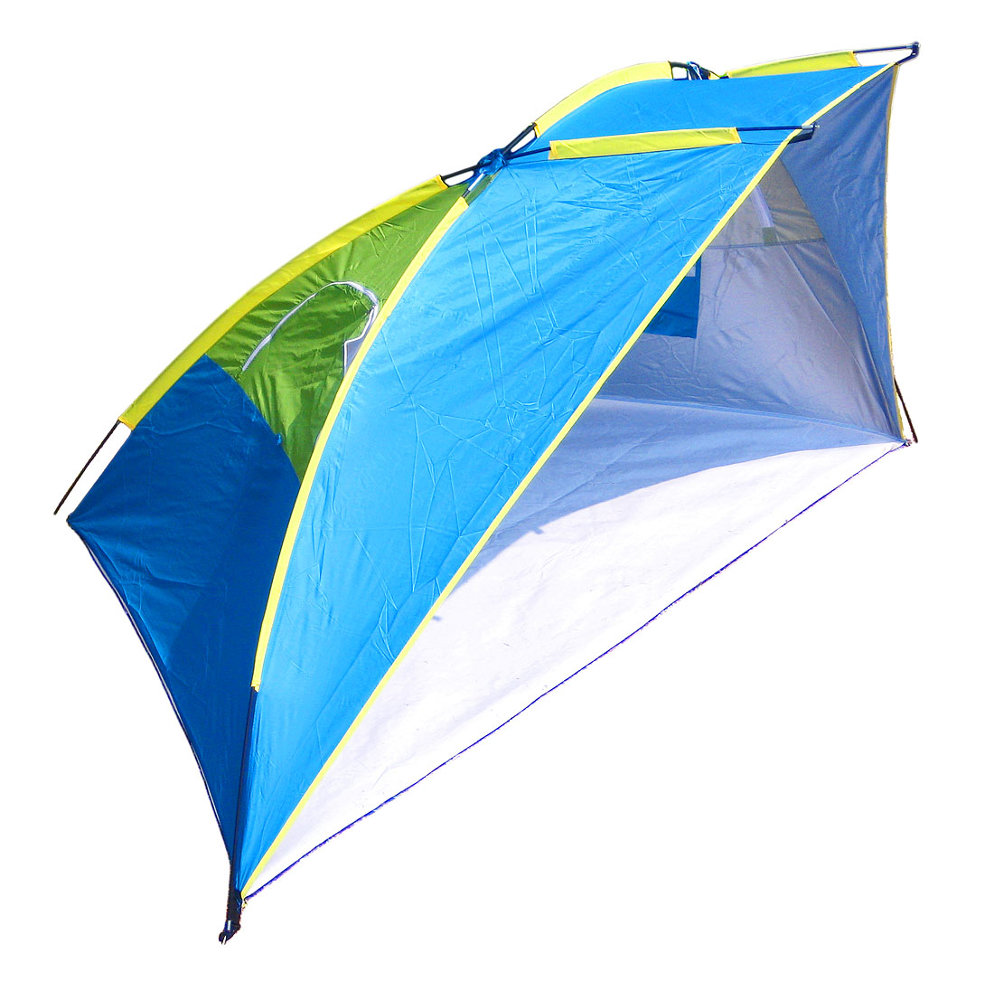 53 Inch Tall Beach Cabana Sun Shade Shelter UPF100