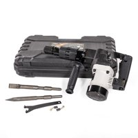 XtremepowerUS 1000W Demolition Electric Hammer Jack Hammer Concrete Breaker Flat Point Chisel Bits with Carrying Case