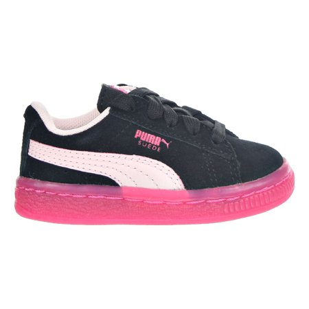 703b08d3639439 PUMA - Puma Suede LFS Iced Toddlers Shoes Black Pink Purple 363085-03 -  Walmart.com