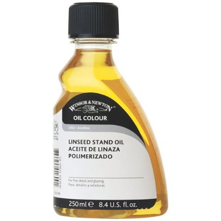 - Winsor & Newton Linseed Oil stand 250 ml