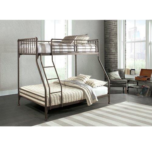 Harriet Bee Wanger Twin/Full Bunk Bed
