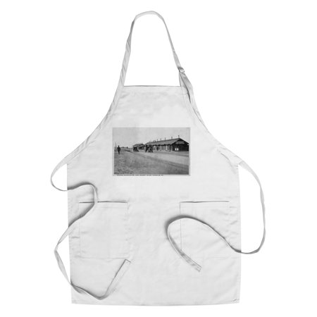 Louisville, Kentucky - Camp Zachary Taylor Division Headquarters (Cotton/Polyester Chef's Apron)