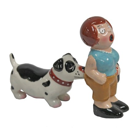 A Lady and a Tramp Magnetic Salt and Pepper Shaket Set (Lady And The Tramp Figurine Set)