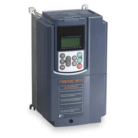 FUJI FRN010F1S-4U Variable Frequency Drive, 10 HP, 380-480V